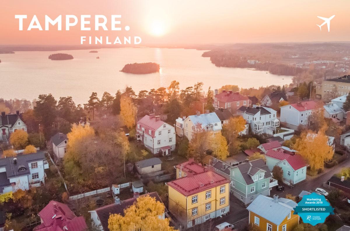 Tampere on niittänyt mainetta suosittuna matkakohteena Euroopassa. Kuva: Laura Vanzo.kuvalauravanzo