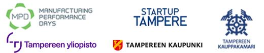 Tampere Industry Startup Forum logot v2