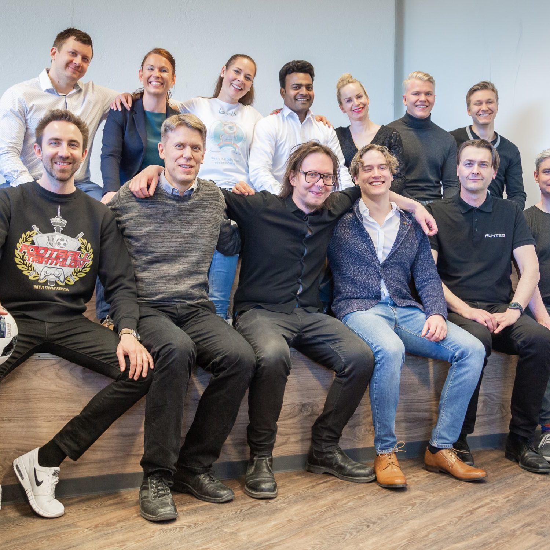 Nordic Startup School Spring 2019 Teams. Photo: Mirella Mellonmaa