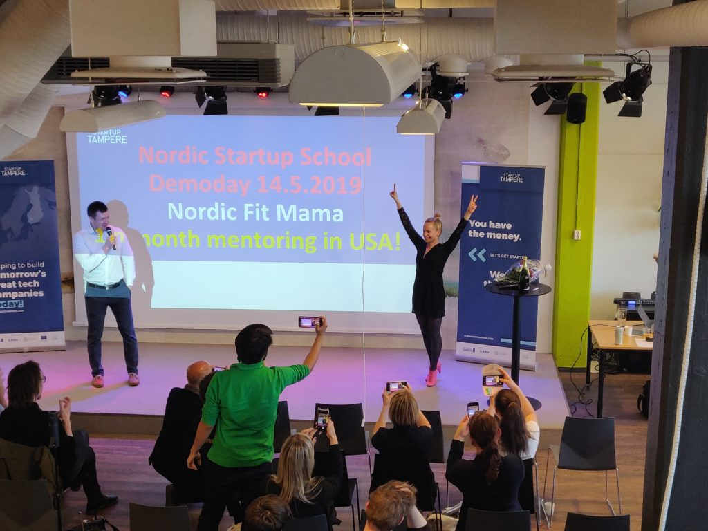 Riina NordicFitMama Winner
