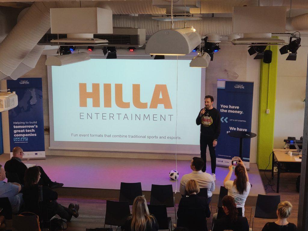 Rober Hilla Entertaiment Demo Day