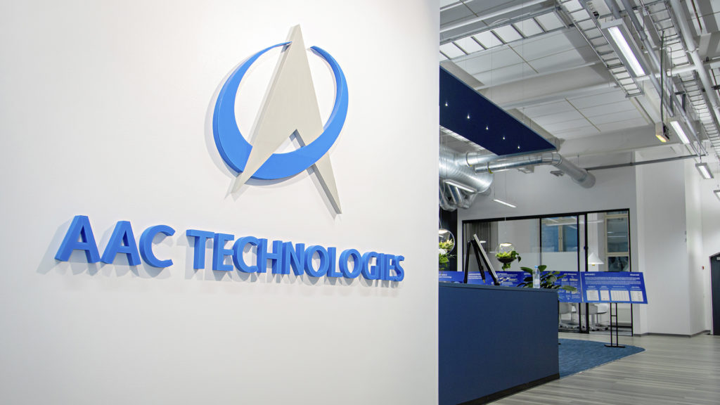AAC Technologies announces its European HQ in Tampere. Photo: Mirella Mellonmaa / Business Tampere.