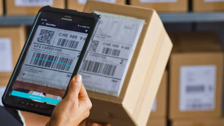 Scandit Barcode Scanning with Samsung Tablet