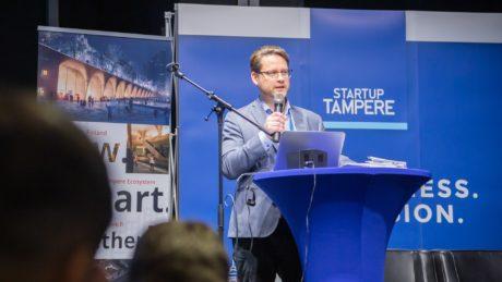 Business Tampere Industury Startup Forum Mirella Mellonmaa 59