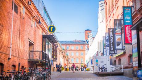 Finlayson area in Tampere. Photo: Laura Vanzo