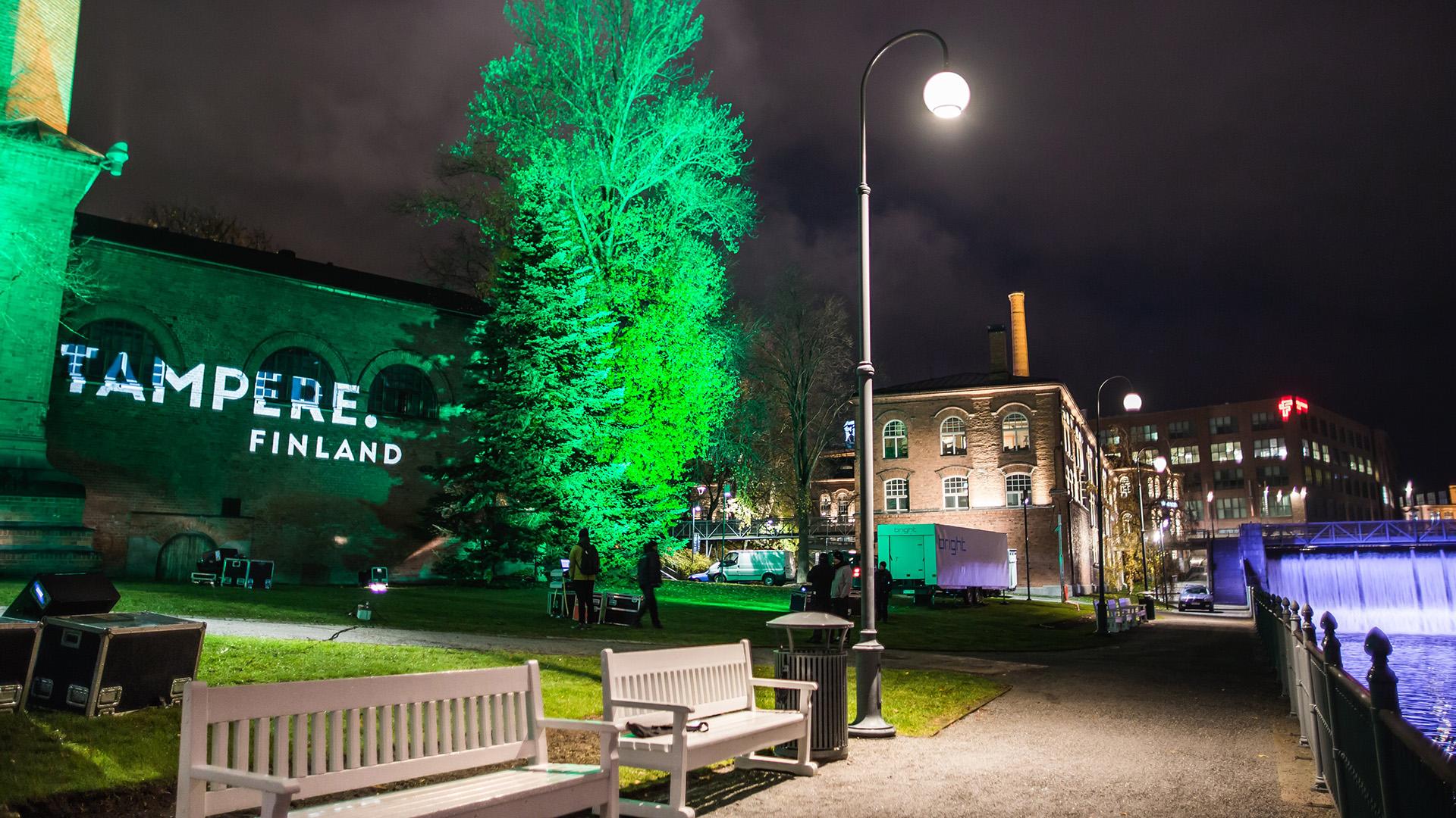 Visit Tampere Valoviikkojen avajaiset teaser Laura Vanzo 3