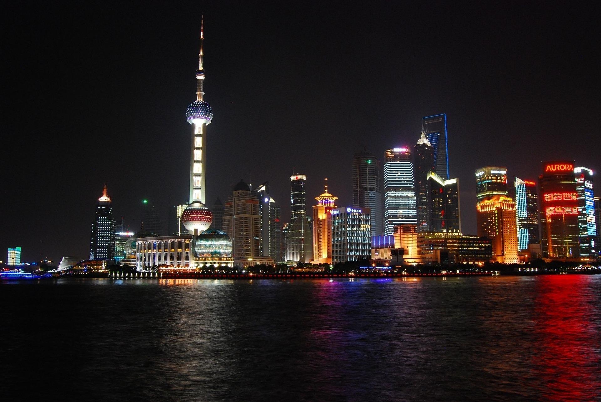 Shanghai skyline Kuva: Pixabay