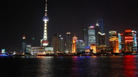 Shanghai skyline. Business Tampere. Photo: Pixabay