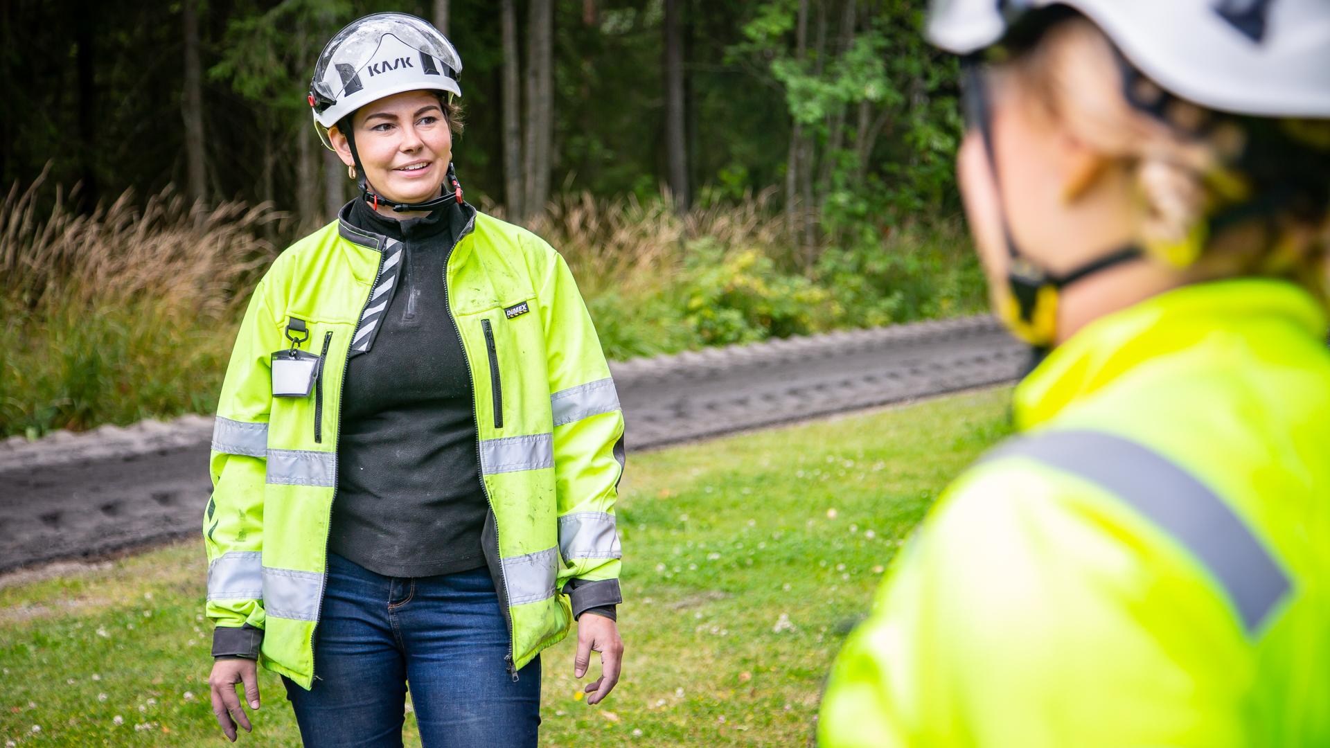 Business Tampere - Ecolan, Jenni Nurmi. Photo: Mirella Mellonmaa