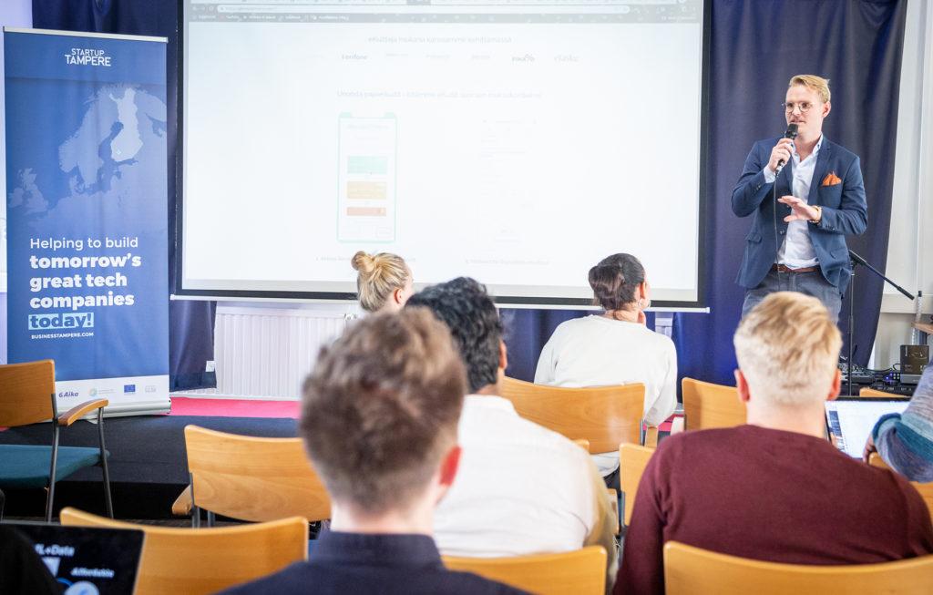 Business Tampere Nordic Startup School Photo: Mirella Mellonmaa