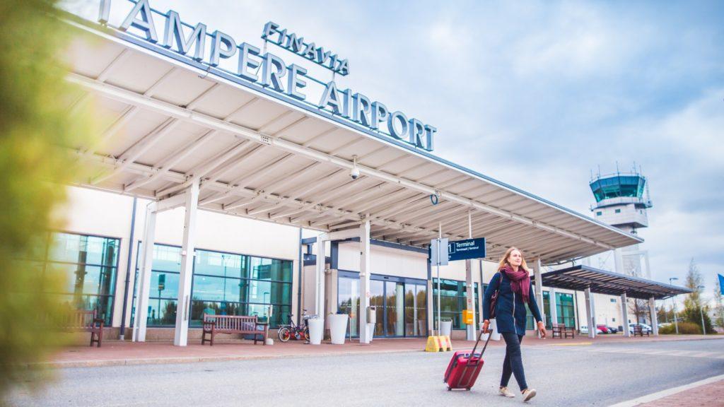 Visit Tampere Airport Tampere Pirkkala lentoasema Laura Vanzo 16 1