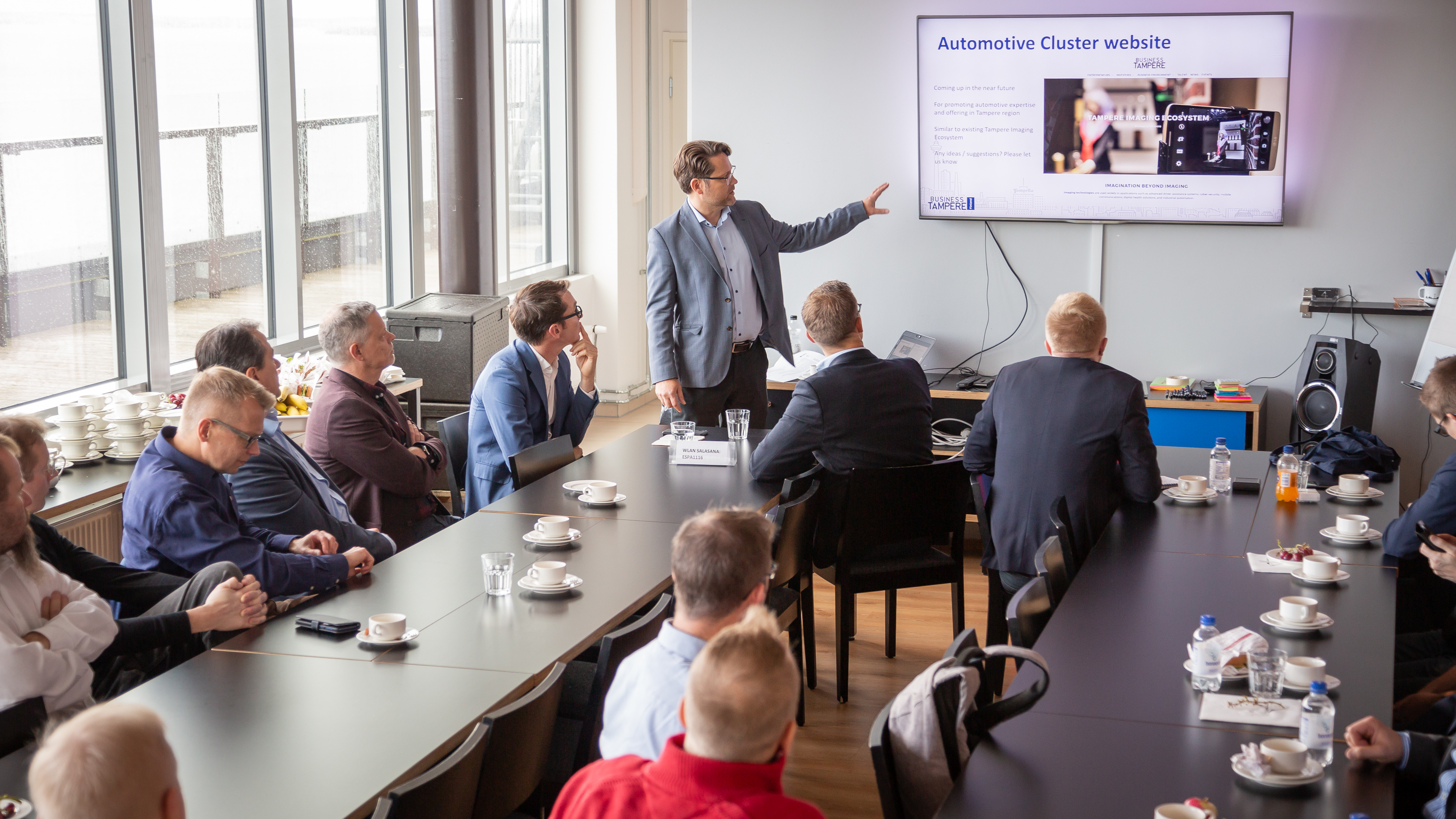 Business Tampere Automotive Cluster, September 2019. Photo: Mirella Mellonmaa