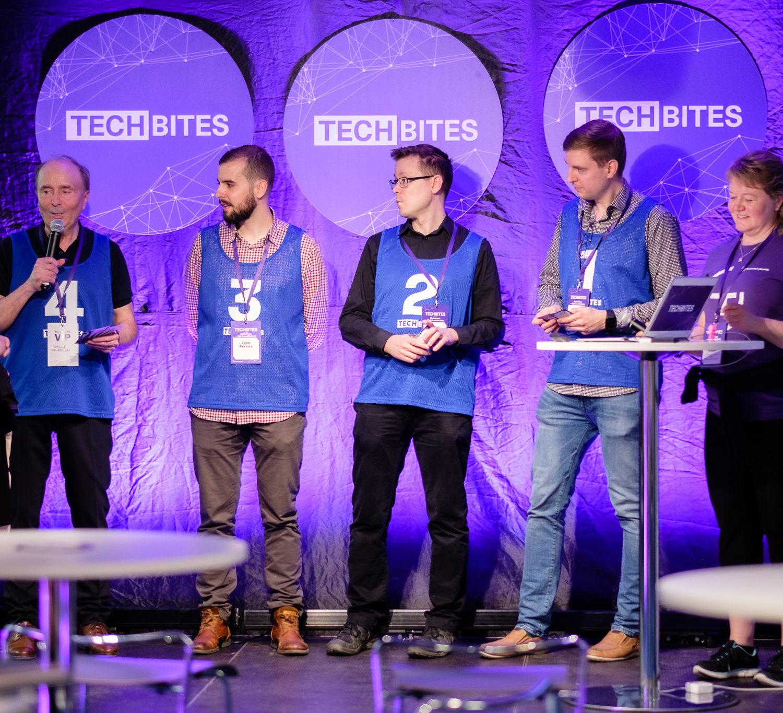 Lokakuun TechBites-tapahtuma on järjestyksessään kuudes. Ensi vuonna Tampereen yliopisto järjestää kolme TechBites-tapahtumaa.