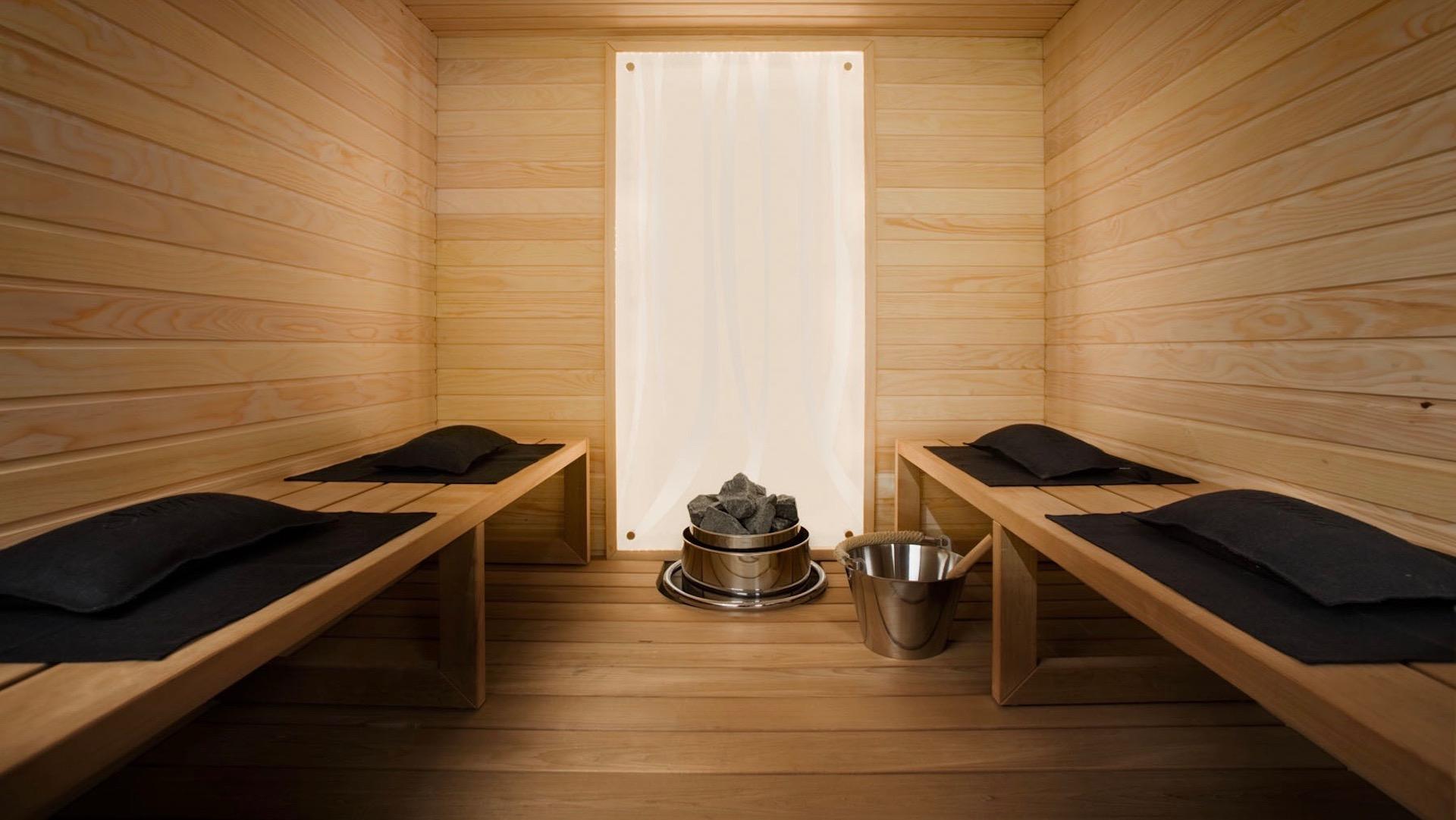 Sauna manufactured by Saunatalo