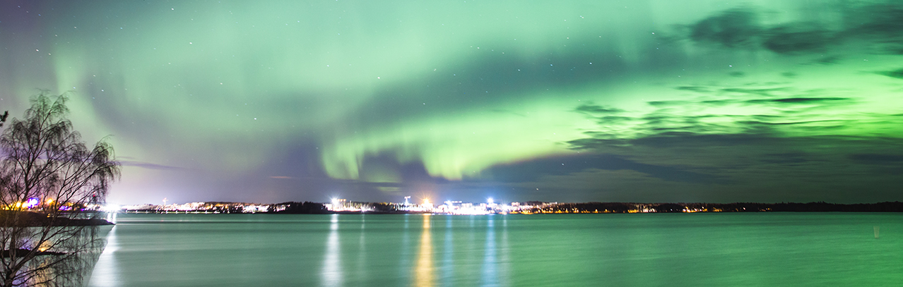 Visit Tampere Revontulet Northern lights Aurora Näsijärvi Laura Vanzo 3
