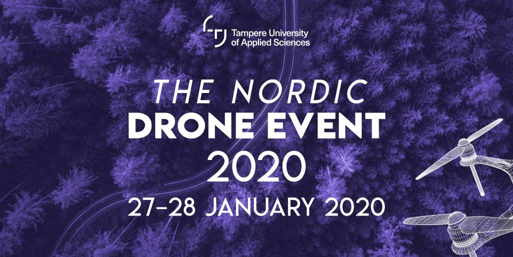 Drone event on Tampere Smart City Week 2020