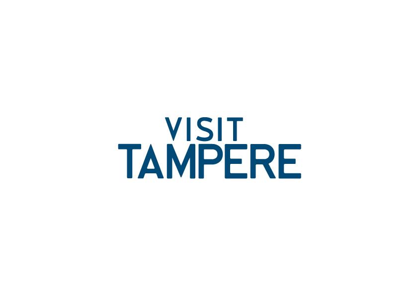 Visit Tampere Logo RGB Blue
