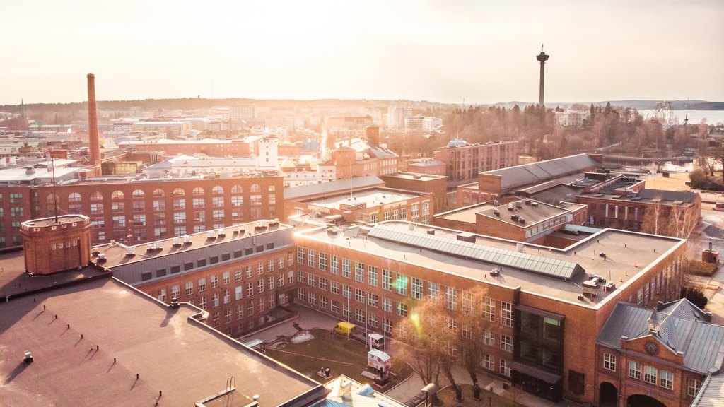 Visit Tampere Beginning of Spring City center Drone views Laura Vanzo 6 1