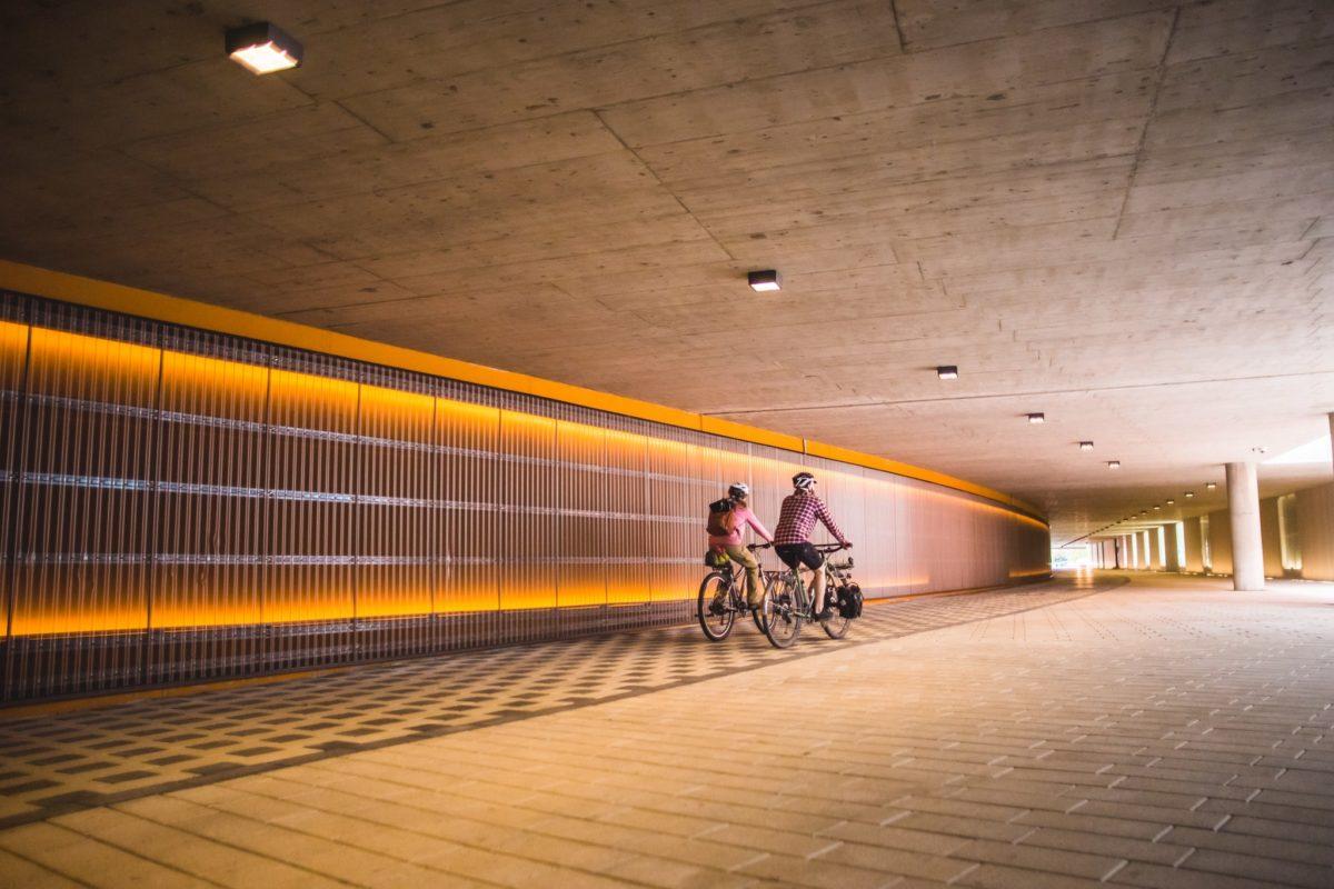 Visit Tampere Ratina Tunnel Biking Laura Vanzo 18