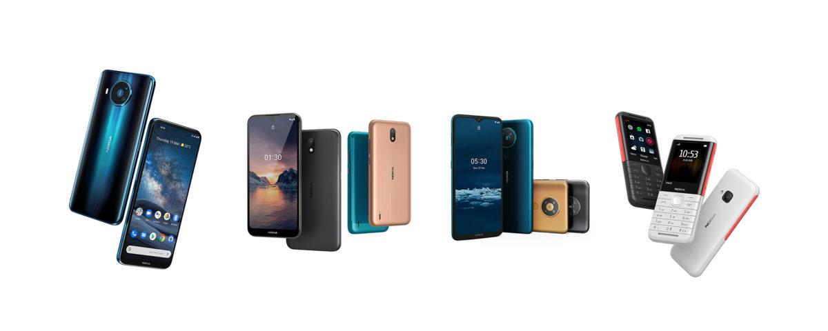 HMD phones - promo photo