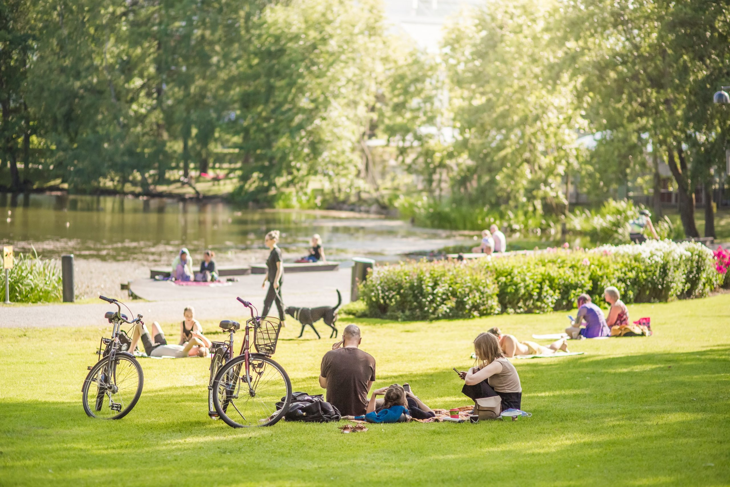 Visit Tampere Tampereen Kaupunki Sorsapuisto park Summer 2019 Laura Vanzo 13