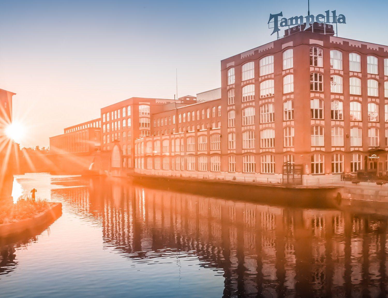 Visit Tampere Tampella Tammerkoski. Kuva: Laura Vanzo