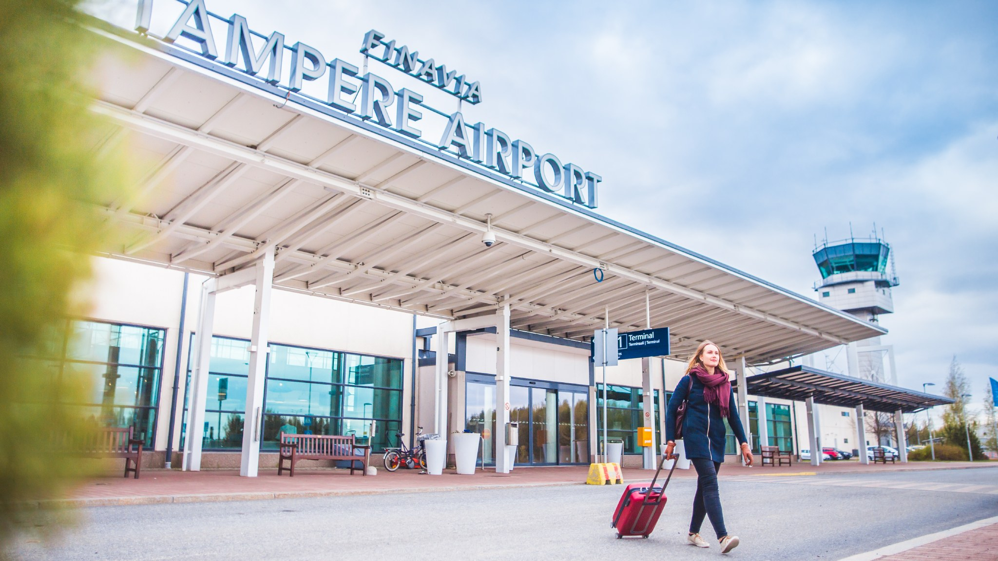 Visit Tampere Airport Tampere Pirkkala lentoasema Laura Vanzo 16 2