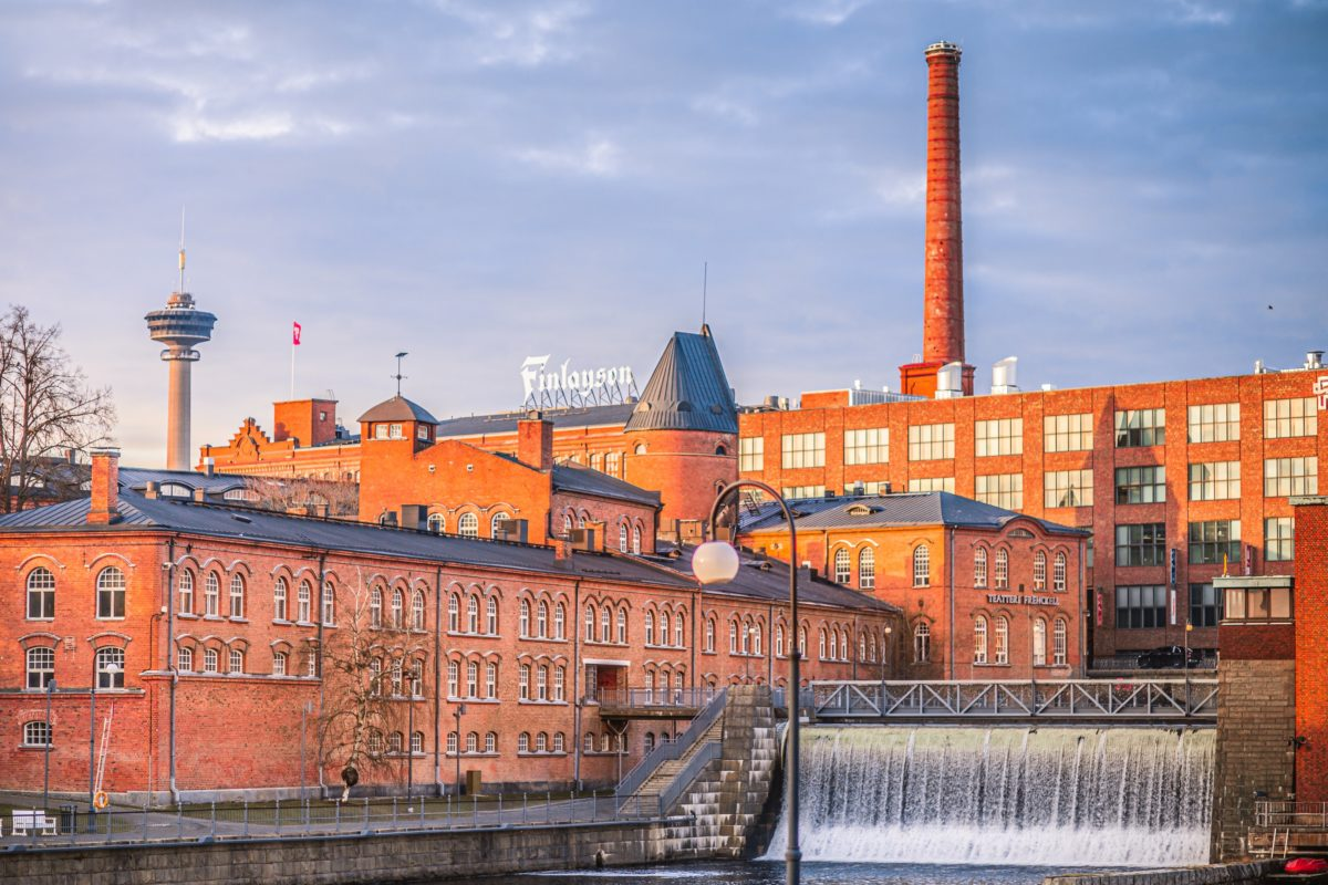 Visit Tampere end of autumn 2020 in city center Laura Vanzo 2