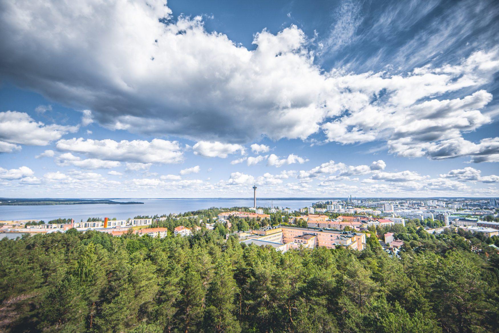 visit tampere pyynikki observation tower summer 2020 laura vanzo 2