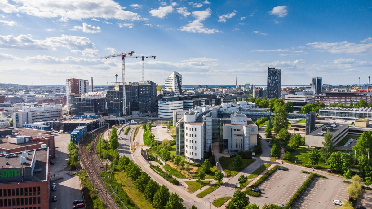 visit tampere skyline uros live areena summer 2021 drone view laura vanzo 3 1